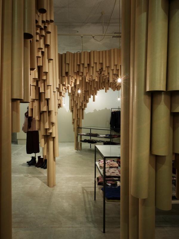 日本广岛Karis时尚女装专卖店设计 概念店设计 专卖店设计