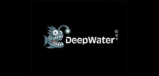 这么多的标志设计都有它 鱼篇 标识设计