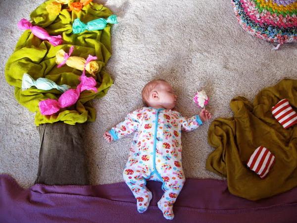Mila的白日梦 这宝宝太幸福了! 创意图片