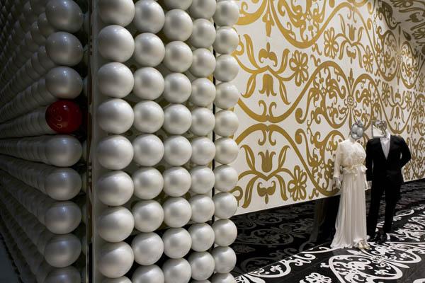 """巴林Villa Moda""""奢侈品的集市"""" 店面设计 男装店设计 服装店设计 时尚专卖店 女装店设计 奢侈品店设计"""