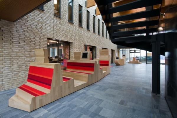 AEQUOY设计的高科技的学校图书馆 室内设计 图书馆设计 书店设计