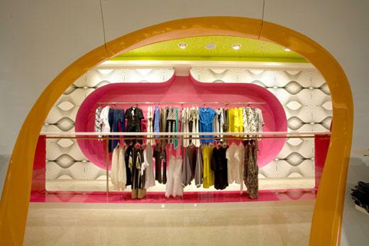 多彩时尚的莫斯科Bosco Pi专卖店设计 精品店设计 店面设计 专卖店设计
