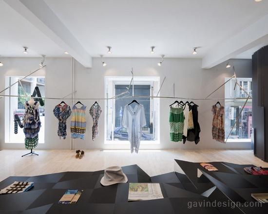 服装专卖店设计的制胜关键 细部设计 商业空间设计