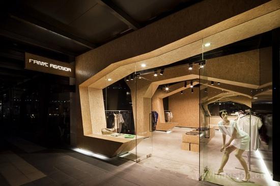 商业空间设计与商品陈列 陈列设计 精品店设计 商业空间设计