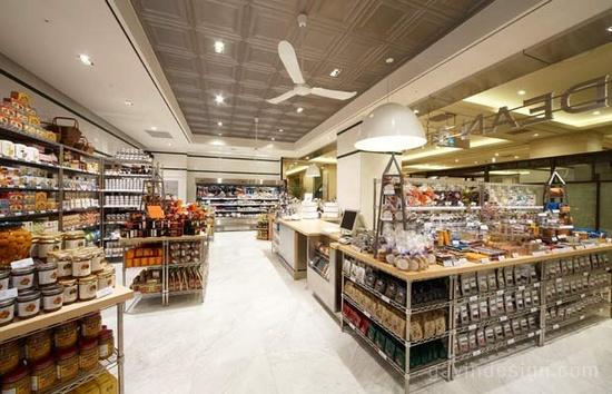 超市大卖场平面布置设计的要点解析 超市设计 卖场设计