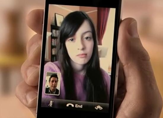 苹果iPhone 4广告(FaceTime)