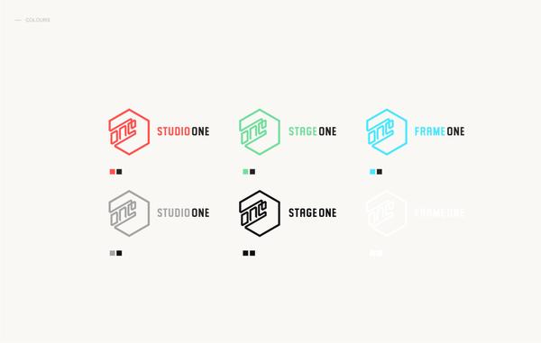 STUDIO ONE品牌视觉形象设计 VI设计