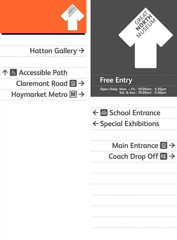 大北方博物馆(GREAT NORTH MUSEUM)指示系统设计 环境导示设计