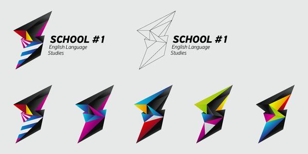色彩跳跃的Alex Mikhaylov品牌形象设计 VI设计