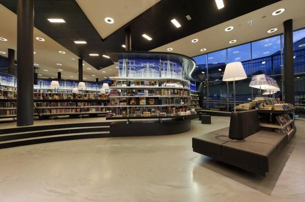 荷兰Almere新图书馆 室内设计 图书馆设计 书店设计
