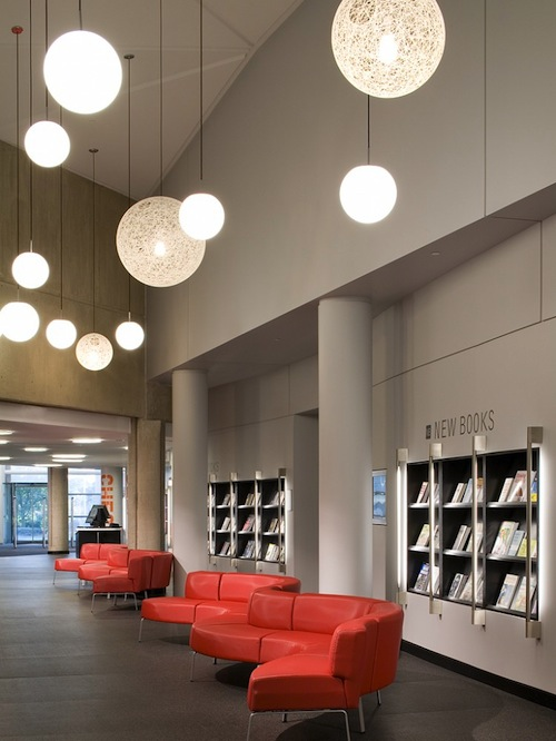 美国伊利诺斯州Poplar Creek公共图书馆 室内设计 图书馆设计 书店设计