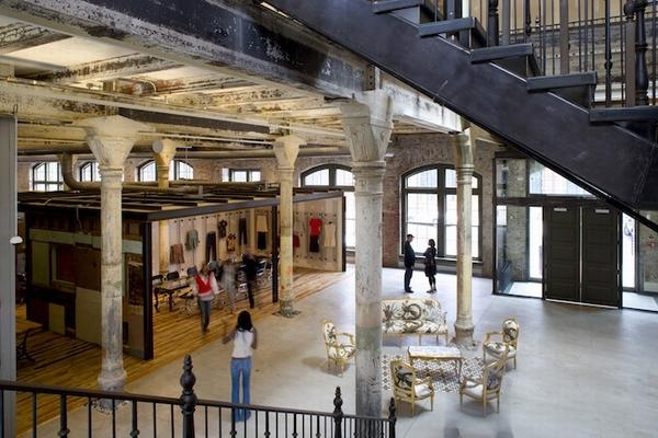 美国潮流品牌Urban Outfitters办公空间设计 办公空间设计
