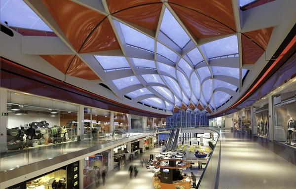 比利时Médiacité购物中心 商场设计 商场设计