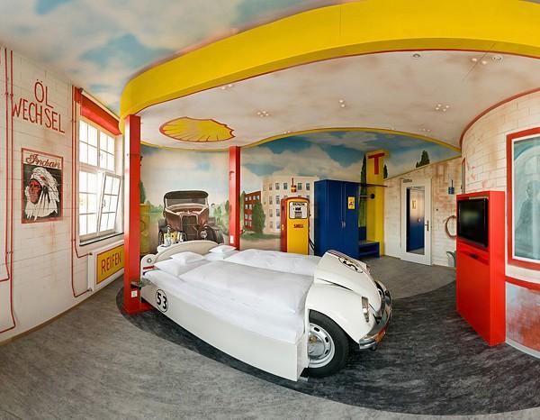 超级个性的德国V8 Hotel汽车旅馆 酒店设计 酒店设计