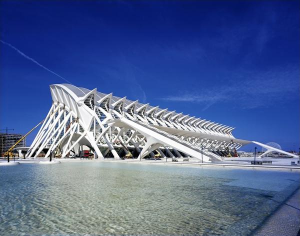 西班牙瓦伦西亚艺术与科学之城环境导示设计 西班牙 环境导示设计 停车场设计