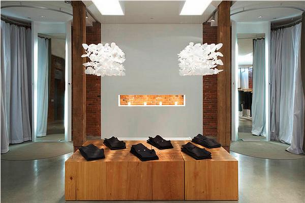 温哥华奢华品牌Obakki简约现代的服装专卖店设计 女装店设计 加拿大 专卖店设计