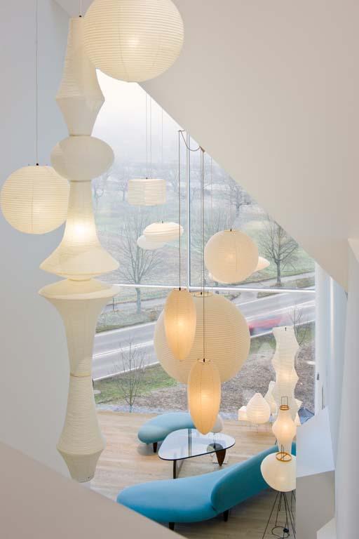 瑞士家具品牌 Vitra 最新 vitrahaus 家具展馆设计 德国 展馆设计 展厅设计 商业空间设计 博物馆设计