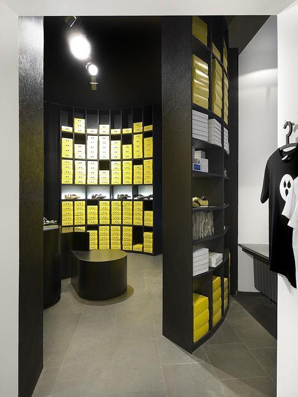 捷克Botas品牌概念店面设计 鞋店设计 概念店设计 店面设计 展厅设计