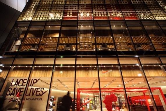 日本东京原宿耐克(nike)旗舰店设计 鞋店设计 概念店设计 旗舰店设计 形象店设计 专卖店设计