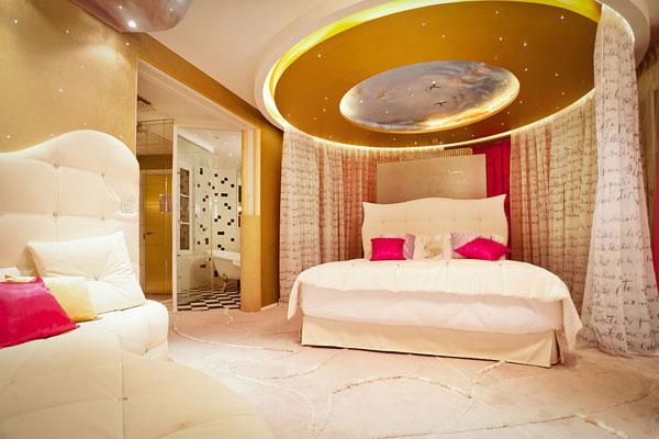 法国巴黎Le Seven酒店的电影主题套房 酒店设计