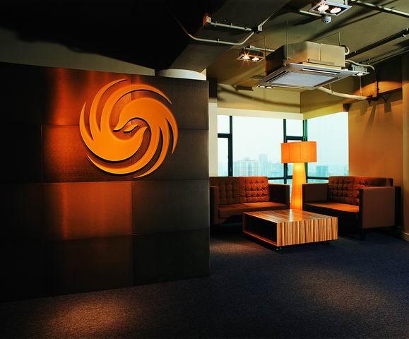 凤凰咨询台_凤凰卫视办公空间设计 | 戈者设计
