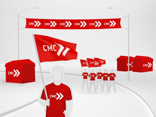 CMC航空公司视觉识别系统设计 VI设计