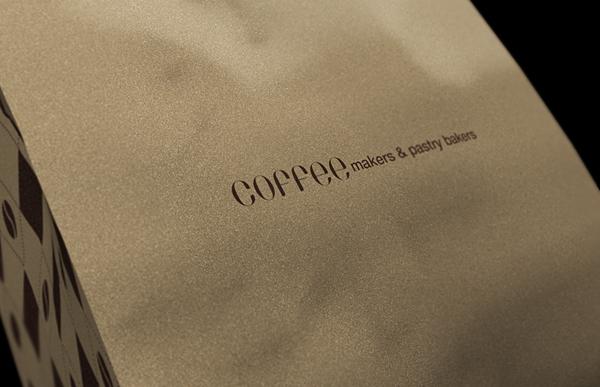 经典优雅的COOPER & FORD咖啡品牌形象设计 VI设计