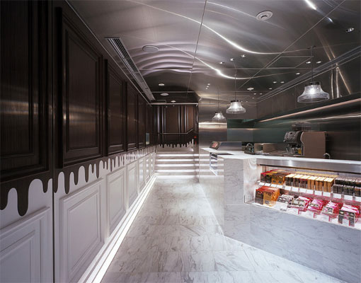 Godiva 巧克力东京原宿概念店面设计 糖果店设计 精品店设计 店面设计