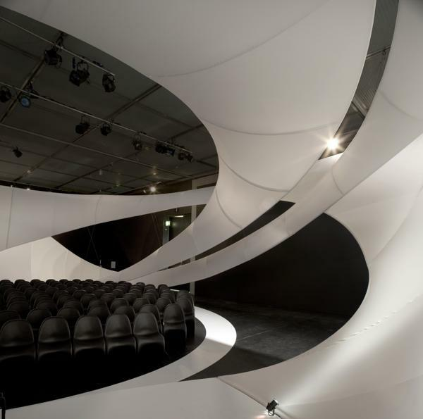 扎哈哈迪德杰作JS Bach Chamber音乐厅设计 展厅设计 商业空间设计