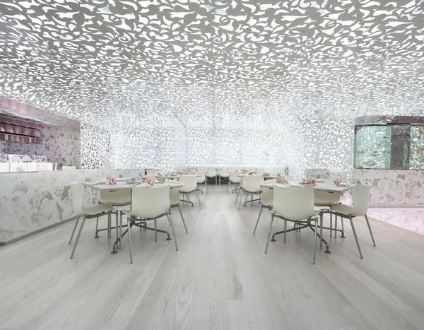 拉斯维加斯大酒店中式餐厅北京面馆9号 商业空间设计 餐厅设计 商业空间设计