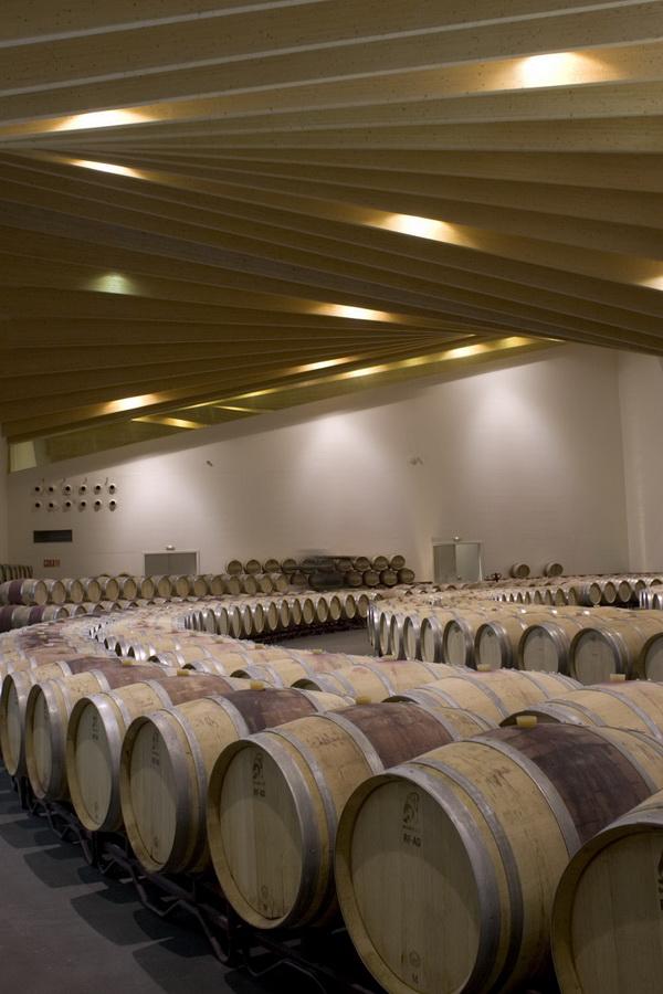 西班牙伊休斯(Ysios)现代酒庄设计 酒庄设计