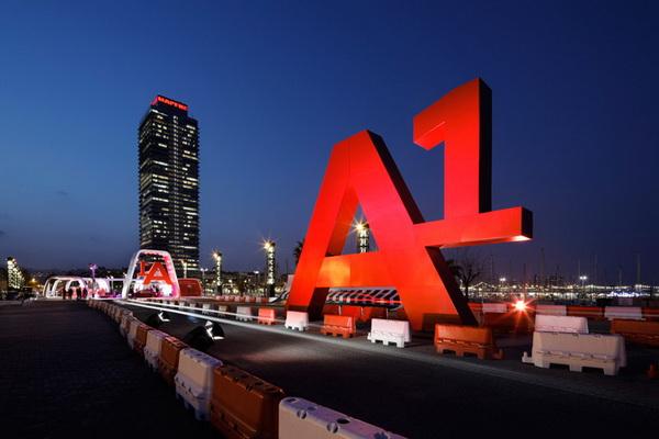 巴塞罗那奥迪AreA1营销活动 展示设计 精品店设计 概念店设计 形象店设计 展厅设计
