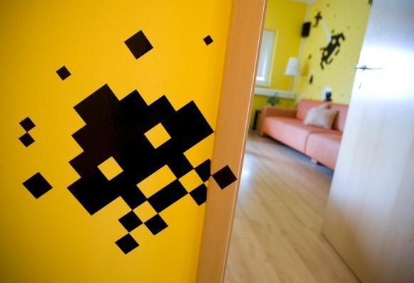 3FS工作室色彩鲜艳的办公空间设计 办公空间设计