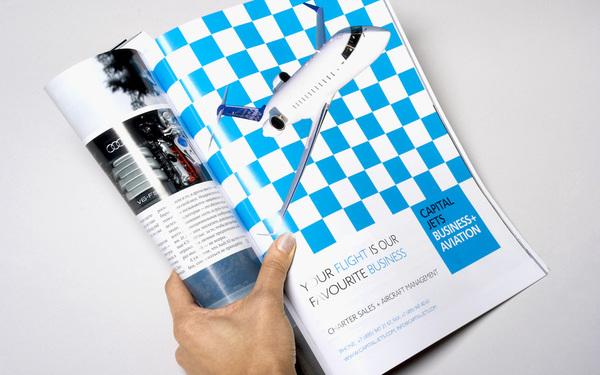 Capital Jets航空公司视觉形象设计 VI设计