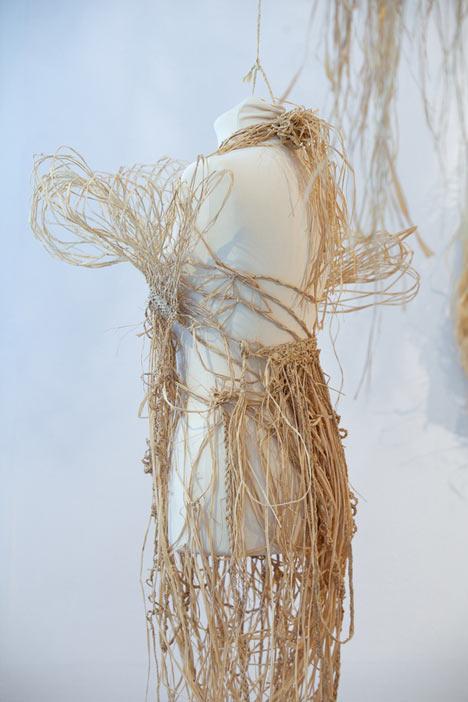 荷兰设计师Tord Bootje植物纤维艺术作品展 展览设计 展览设计 展厅设计