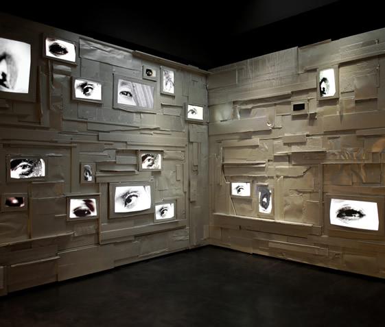 比利时艺术家Arne Quinze的欧莱雅概念艺术店面设计 皮具店设计 概念店设计 服装店设计 形象店设计 店面设计