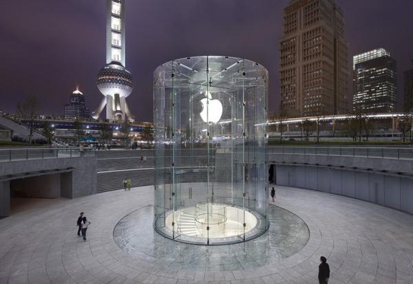 上海陆家嘴苹果旗舰店 专卖店设计 苹果专卖店 旗舰店设计 形象店设计 专卖店设计 Apple