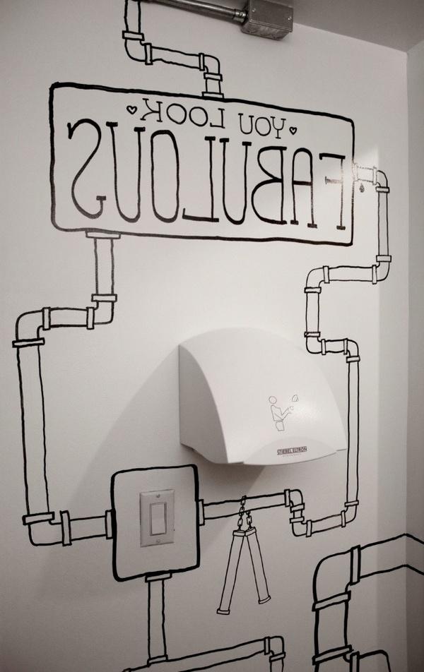 女生厕所另的类美化设计 – Timothy Goodman 洗手间设计
