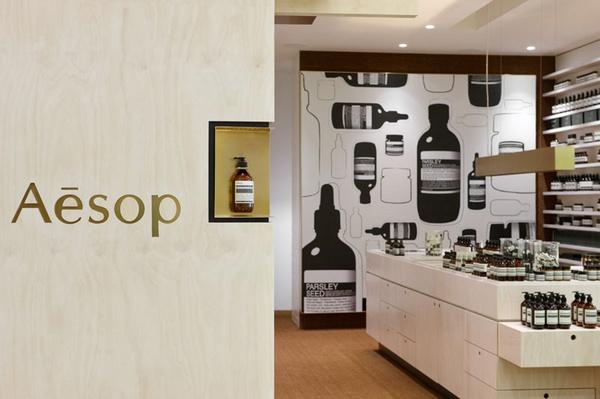 保养品Aesop品牌店面设计欣赏 连锁店设计 精品店设计 店面设计 化妆品店设计