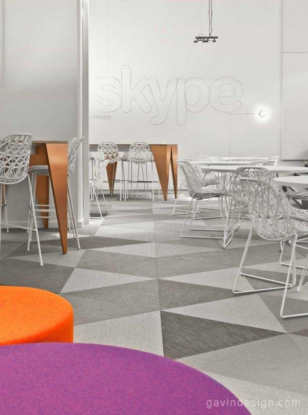 Skype瑞典斯德哥尔摩办公室设计 办公空间设计