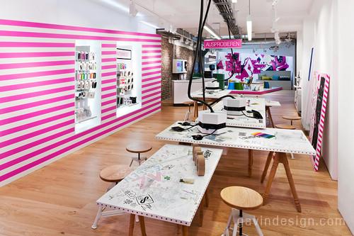 4010德国电信零售店面设计 精品店设计 时尚专卖店 店面设计 女装店设计