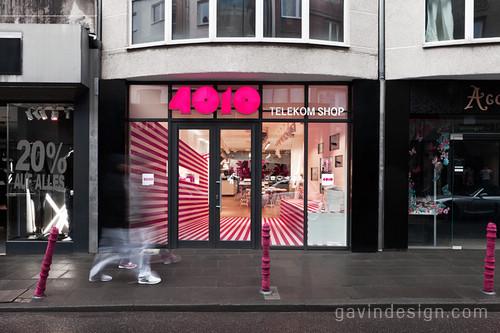 4010德国电信零售店面设计 精品店设计 时尚专卖店 店面设计 女装店面设计