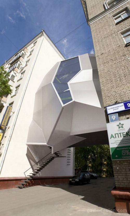 Parasite office办公室空间设计 办公空间设计 办公室设计