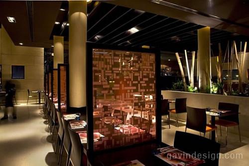 Nu Asia Restaurant连锁餐厅设计 餐厅设计 商业空间设计 SI设计