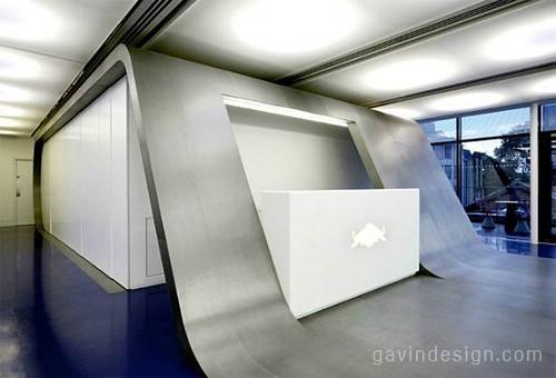 红牛伦敦总部设计 办公空间设计