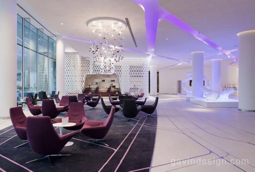 阿布扎比(The Yas Hotel)酒店设计 餐厅设计 酒店设计