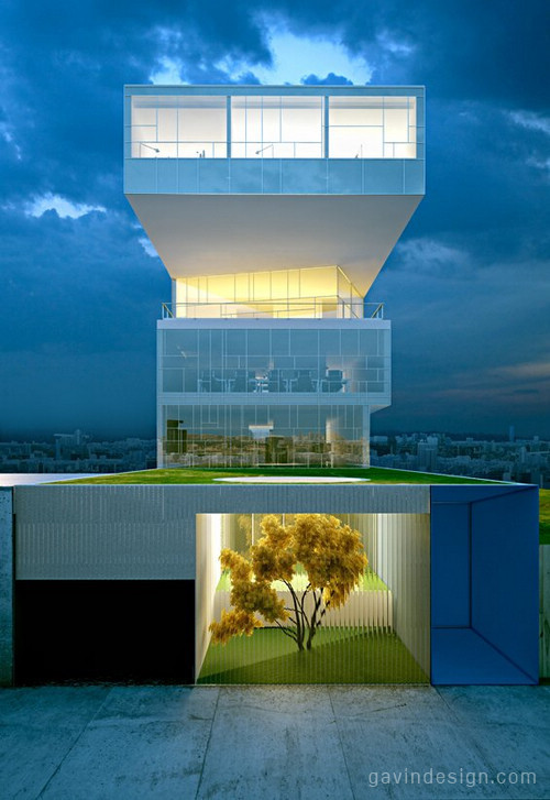 STELMAT新总部大楼设计 办公空间设计 办公室设计