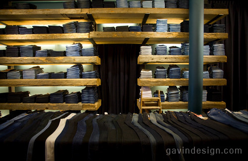 Tenue de Nîmes 牛仔专卖店设计 时尚专卖店 休闲服装店 专卖店设计 SI设计