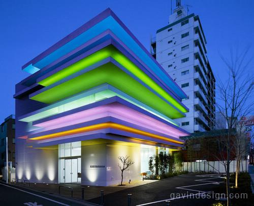 彩虹东京巢鸭信用银行设计