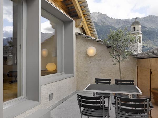 瑞士15世纪老房子改造设计 住宅设计